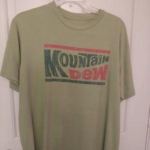 Vintage Mountain Dew Soda t-shirt - men size large